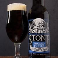 stone smoked porter with vanilla bean banner