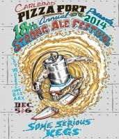 pizza port strong ale 2014 post card