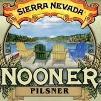 Sierra Nevada Nooner Pilsner label BeerPulse