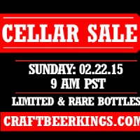 Craft Beer Kings Cellar Sale banner