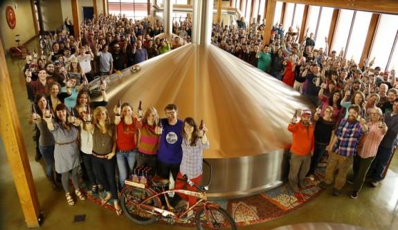 New Belgium Brewing Coworkers 2013
