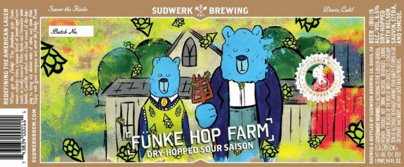 Sudwerk Funke Hop Farm label BeerPulse 2