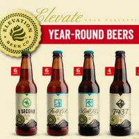 Elevation Brewing bottle lineup BeerPulse