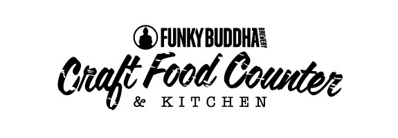 Funky Buddha Craft Food Counter and Kitchen