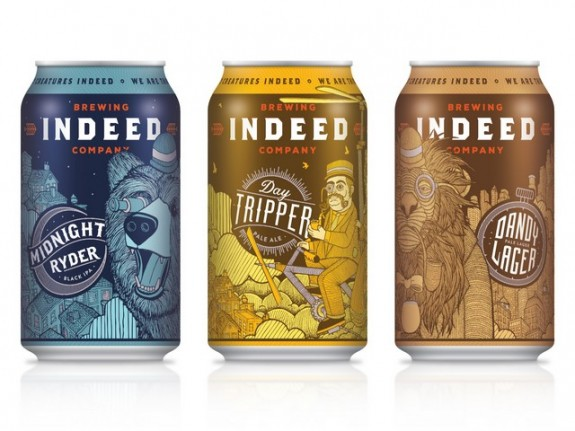 Indeed Brewing cans resdesign BeerPulse
