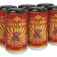 Laurelwood Red Elephant 6-Pack Cans BeerPulse