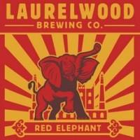 Laurelwood Red Elephant IRA label BeerPulse