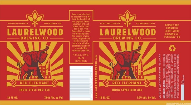 Laurelwood red elephant ira beerpulse for Laurel wood