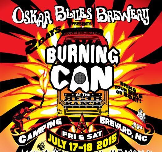 Oskar Blues Burning Can Brevard