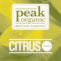 Peak Organic Citrus Saison label BeerPulse