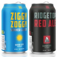 Silver City Brewery cans lineup