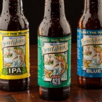 SweetWater Brewing Bottle Lineup Compressed