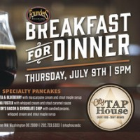 City Tap House Founders Breakfast For Dinner