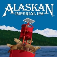 Alaskan Imperial IPA label BeerPulse