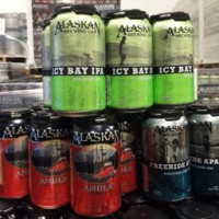 Alaskan Brewing Co. cans