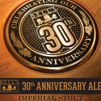 Bell's 30th Anniversary Ale label BeerPulse