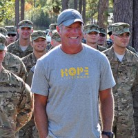 Brett Favre creative commons US Army