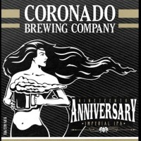 Coronado Nineteenth Anniversary Imperial IPA packaging BeerPulse site