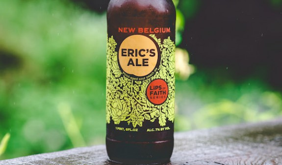 New Belgium Eric's Ale bottle pic