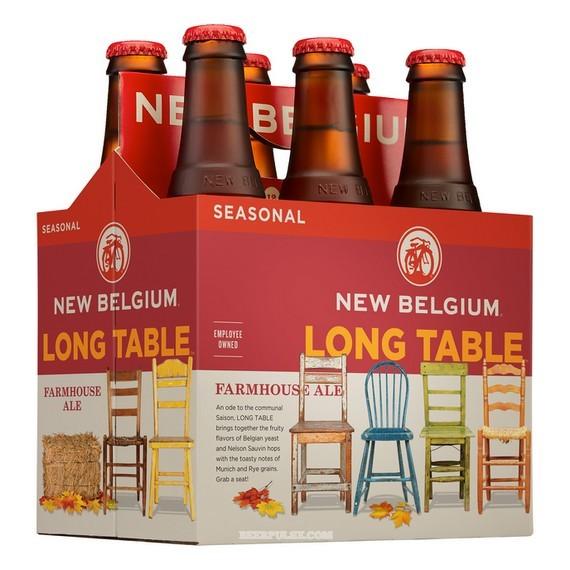 New Belgium Long Table Farmhouse Ale 6PK BeerPulse