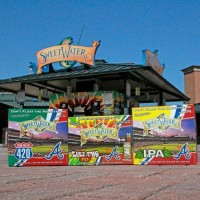 SweetWater Brew Braves Packaging BeerPulse