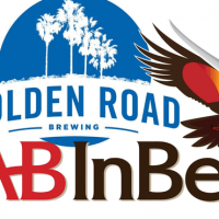 a-b inbev golden road logo combined
