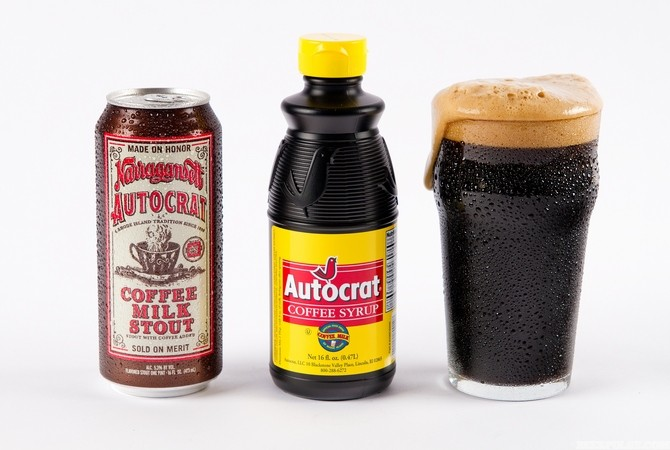 Narragansett autocrat coffee milk stout returns for third for Rhode island craft beer