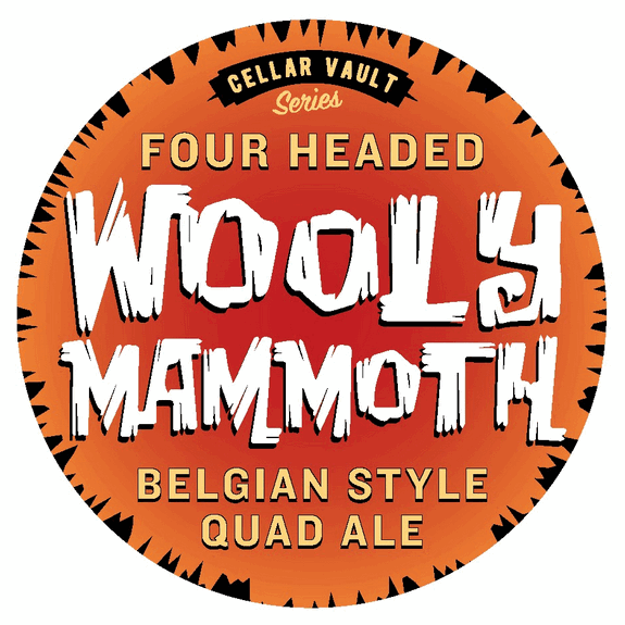 Southern Tier Wooly Mammoth Belgian Quad label