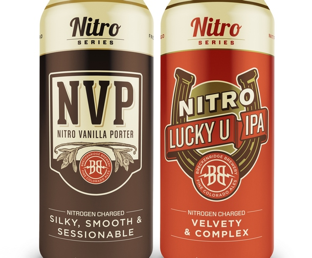 Breckenridge Brewery's Nitro Series can line to debut in first quarter, 2016