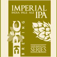 Epic Imperial IPA label BeerPulse