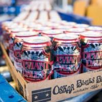 Oskar Blues Deviant Dale's canning line
