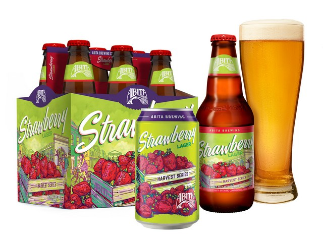 Abita Strawberry Lager Packaging BeerPulse