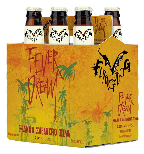 Flying Dog Fever Dream Mango Habanero IPA 6PK BeerPulse