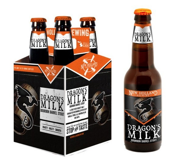 New Holland Dragon's Milk Bourbon Barrel Stout 4pk BeerPulse