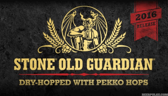 Stone Old Guardian Dry-Hopped with Pekko Hops banner