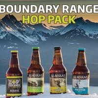 Alaskan Boundary Range beer lineup