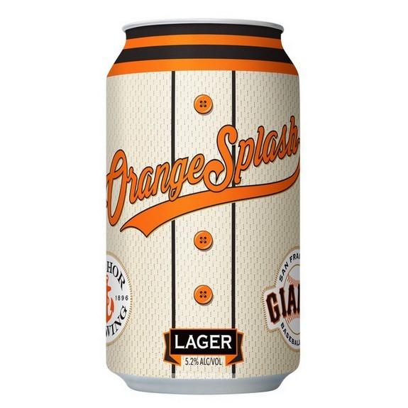Anchor Orange Splash Lager 12OZ CAN BeerPulse