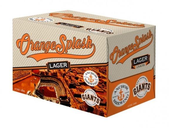 Anchor Orange Splash Lager 6PK 12OZ CAN BeerPulse