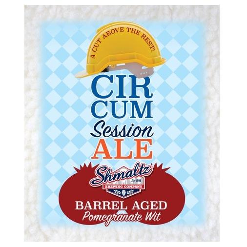 Circum Session Ale Shmaltz label BeerPulse