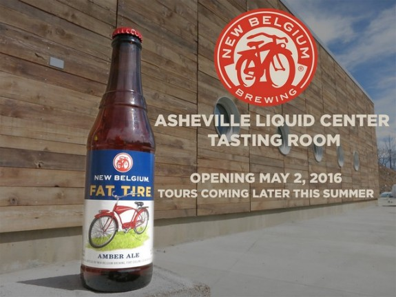 New Belgium Asheville Liquid Center Tasting Room Opening