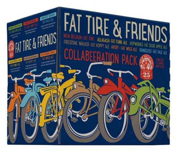 New Belgium Fat Tire and Friends Collaboratiion Variety Pack