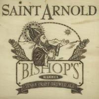 Saint Arnold Bishops Barrel logo BeerPulse square