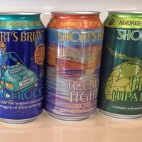 Shorts Brewing cans photo BeerPulse