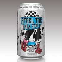 Ska Steel Toe Milk Stout can BeerPulse