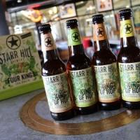 Starr Hill Four Kings bottles