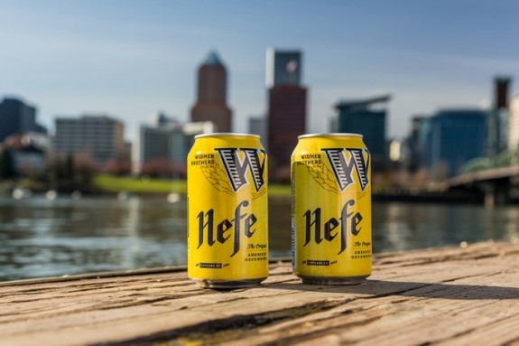 Widmer Brothers Hefe in cans BeerPulse