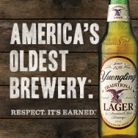 Yuengling respect its earned