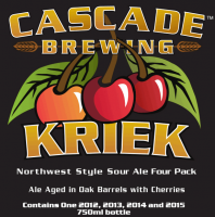 Cascade Kriek label BeerPulse