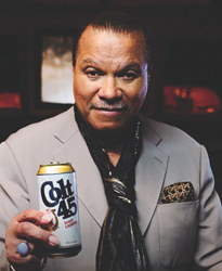 Billy Dee Williams returns as Colt 45 pitchman | BeerPulse