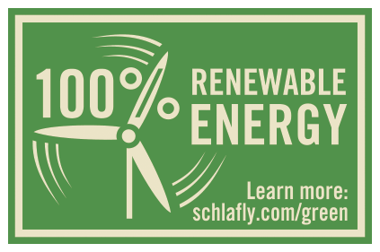 Schlafly Beer Adds 100 Renewable Energy Stamp To All
